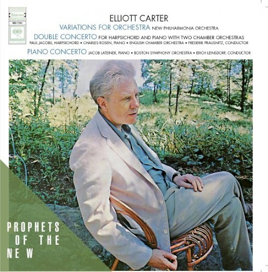 Elliott Carter: Variations for Orchestra; Double Concerto; Piano Concerto