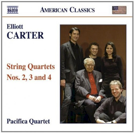 Pacifica Quartet: Elliott Carter: String Quartets Nos. 2, 3 and 4
