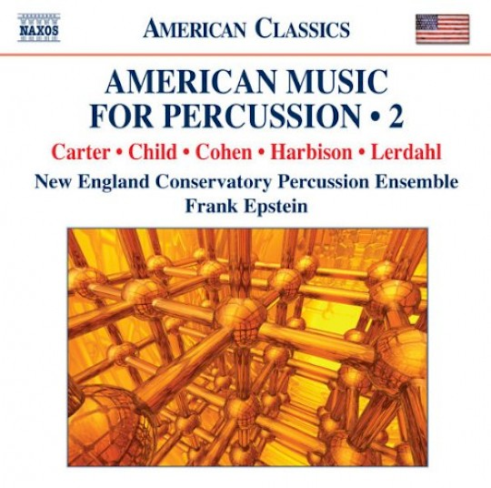 New England Conservatory Percussion Ensemble: American Music for Percussion 2