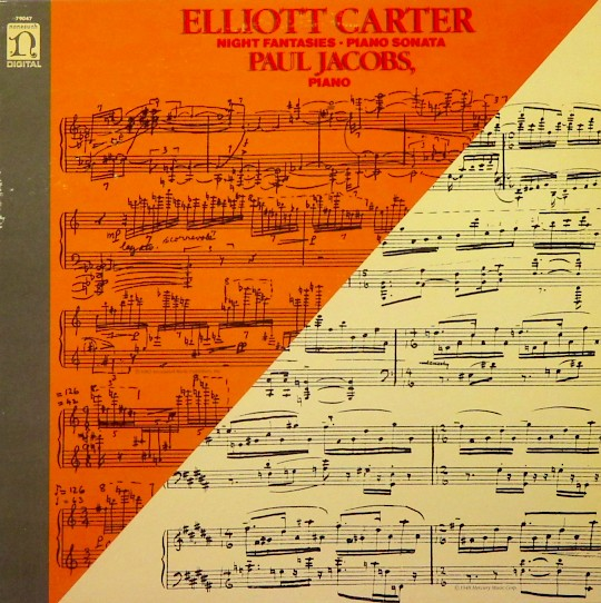 Paul Jacobs: Elliott Carter: Night Fantasies; Piano Sonata