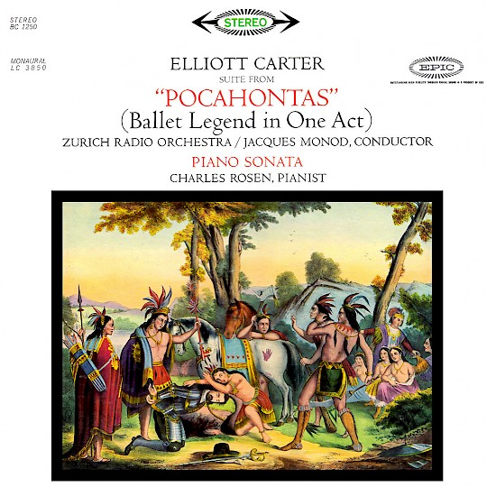 Pocahontas (suite from the ballet); Piano Sonata