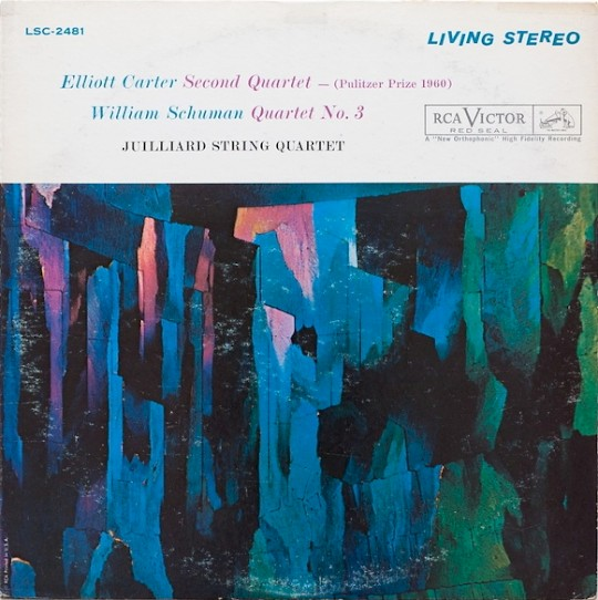 Juilliard String Quartet: Elliott Carter: String Quartet No. 2; William Schuman: String Quartet No. 3