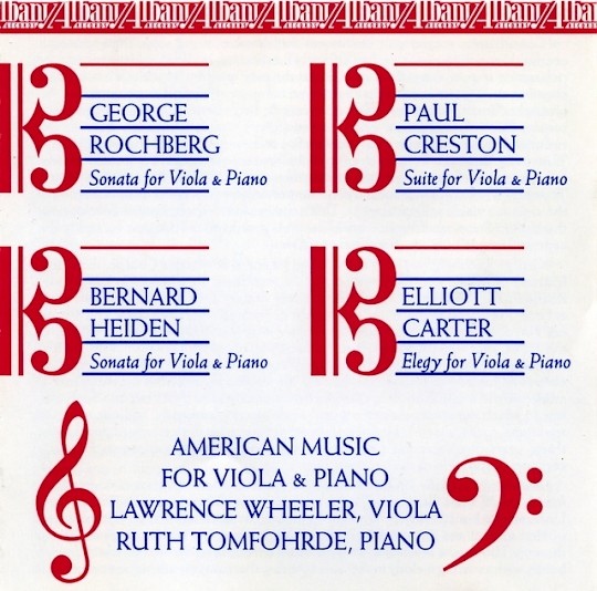 Lawrence Wheeler & Ruth Tomfohrde: American Music for Viola