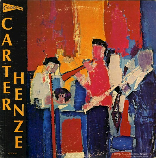 The Dorian Quintet: Carter/Henze