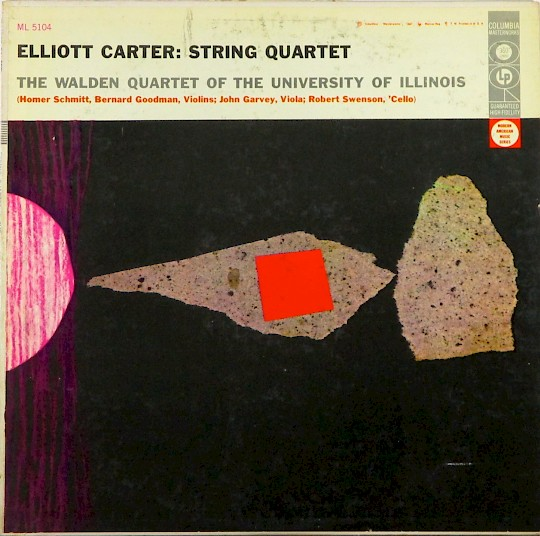 The Walden Quartet of the University of Illinois: Elliott Carter String Quartet