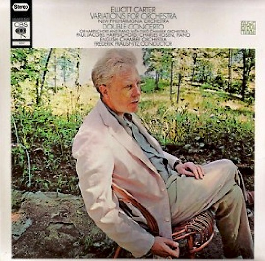 Elliott Carter: Variations; Double Concerto