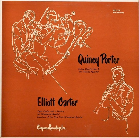 Quincy Porter; Elliott Carter