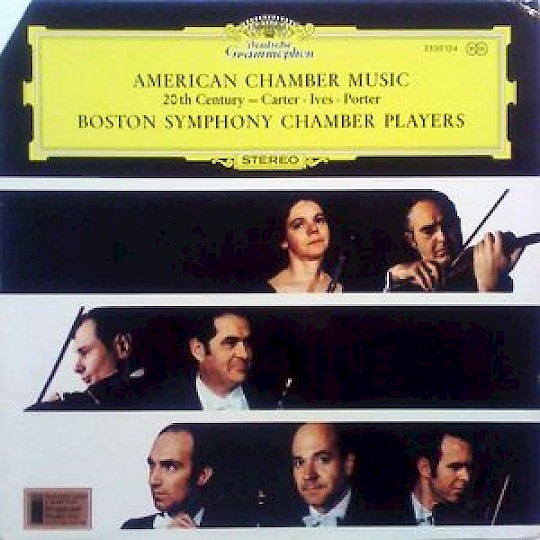 Boston Symphony Chamber Players: American Chamber Music