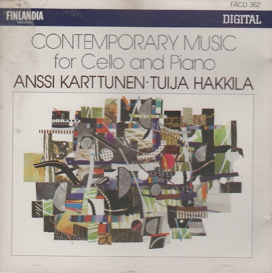 Anssi Karttunen & Tuija Hakkila: Contemporary Music for Cello and Piano