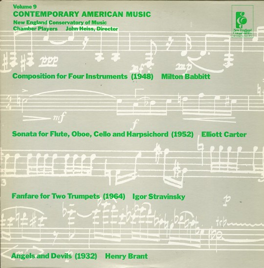 Contemporary American Music