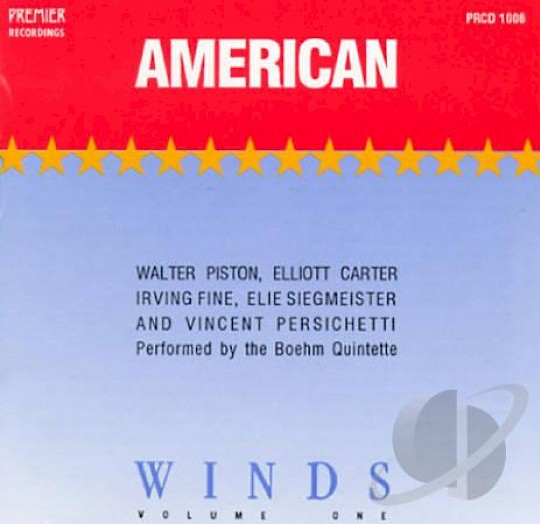 Boehm Quintette: American Winds, volume one