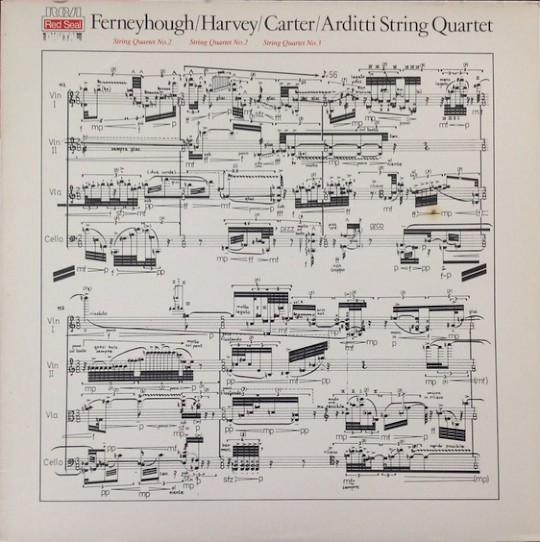 Arditti String Quartet: Ferneyhough, Harvey, Carter