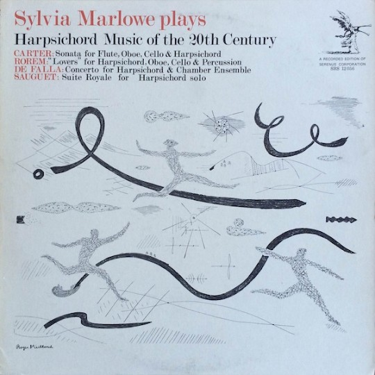 Sylvia Marlowe Plays Harpsichord Music of the 20th Century