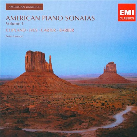 Peter Lawson: American Piano Sonatas Vol. One