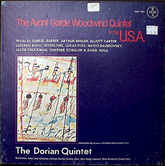 The Dorian Quintet: The Avant Garde Woodwind Quintet in the U.S.A.