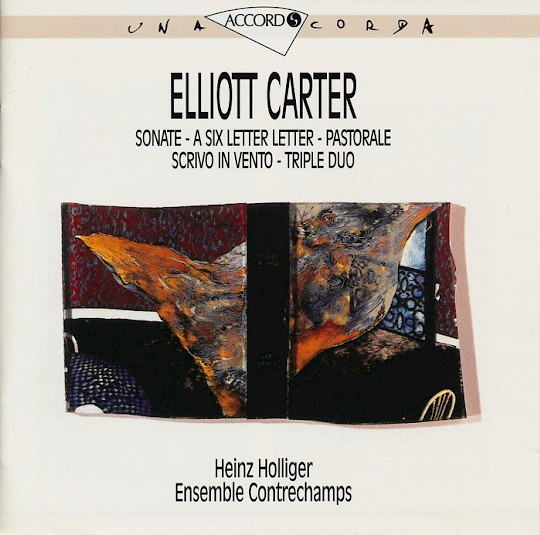 Ensemble Contrechamps: Elliott Carter