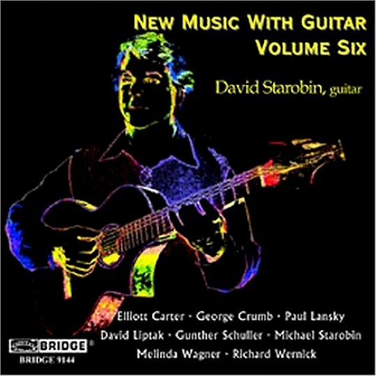 David Starobin: New Music with Guitar, Volume 6