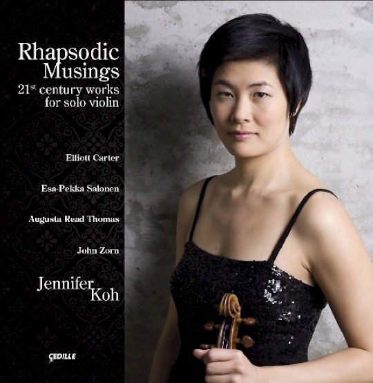 Jennifer Koh: Rhapsodic Musings