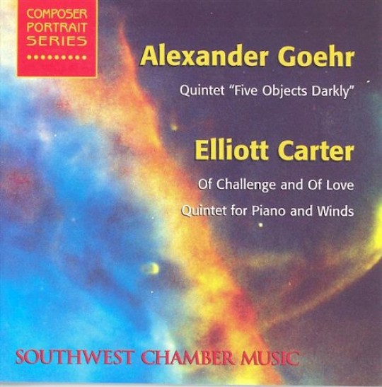 Southwest Chamber Music: Goehr and Carter