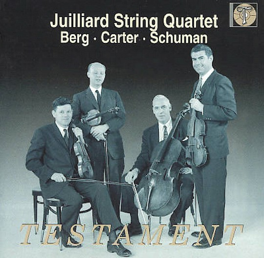 Juilliard String Quartet: Berg, Carter, Schuman