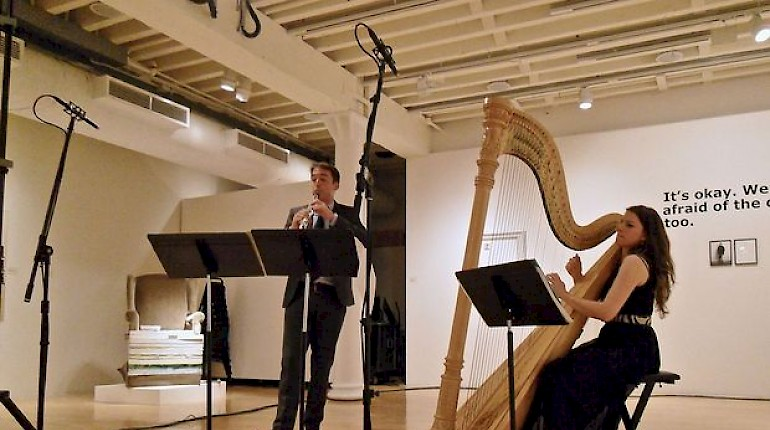 Now Streaming: Bridget Kibbey & James Austin Smith play Trilogy