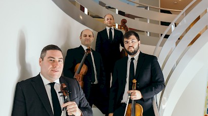 Amernet String Quartet plays Carter