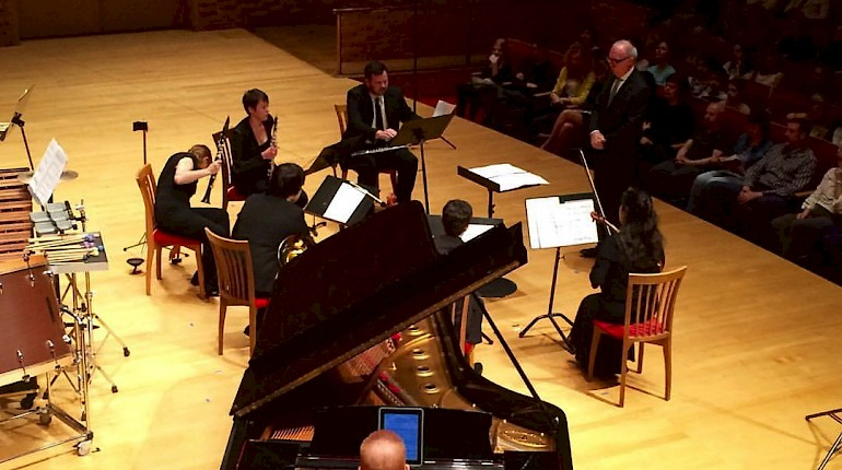 Talea Ensemble Plays Triple Duo in Russia (video)
