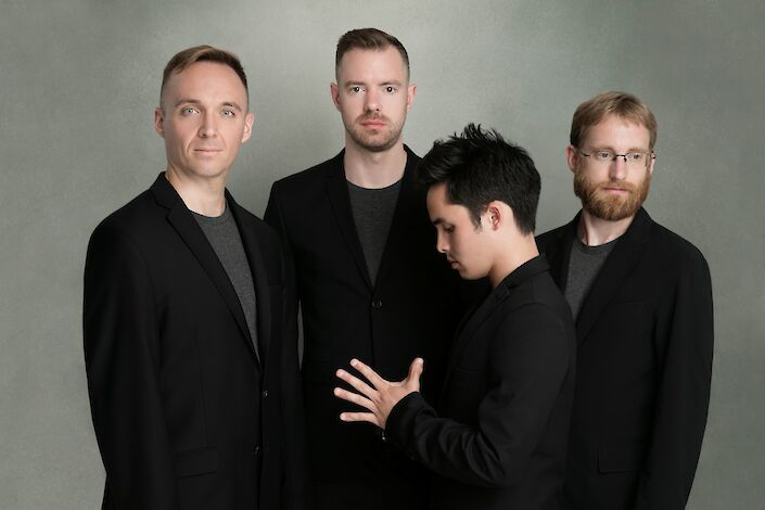 <p>JACK Quartet. Photo by Beowulf Sheehan.</p>